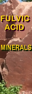 Ormus Minerals Inner Grounding Fulvic Acid Minerals