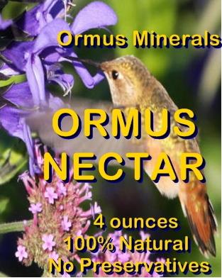 Ormus Minerals Ormus Nectar