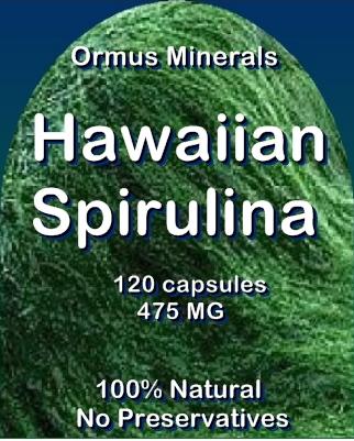 Ormus Minerals Hawaiian Spirulina