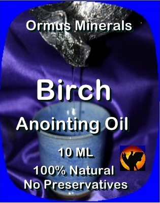 Ormus Minerals Birch Anointing Oil
