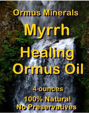 Ormus Minerals Myrrh Healing Ormus Oil