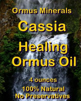 Ormus Minerals Cassia Healing Ormus Oil