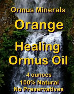 Ormus Minerals Orange Healing Ormus Oil