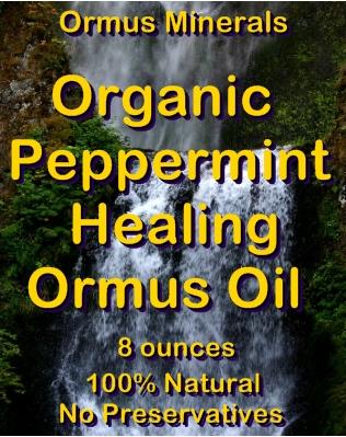 Ormus Minerals Organic Peppermint Healing Ormus Oil
