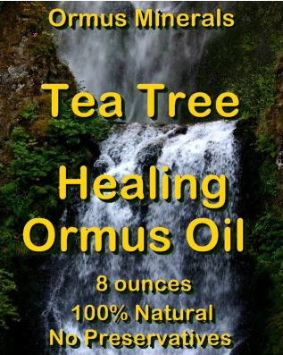Ormus Minerals Tea Tree Healing Ormus OIl