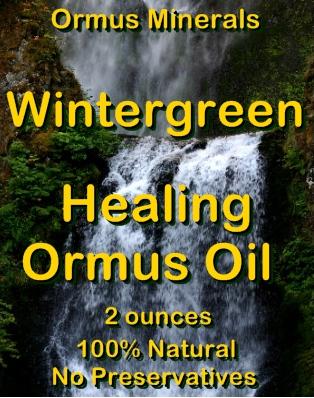 Ormus Minerals Wintergreen Healing Ormus Oil
