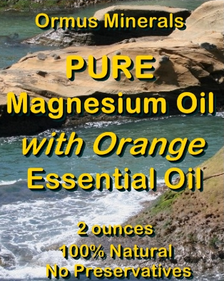 Ormus Minerals Combo Set Ocean Energy and Pure Magnesium Oil with Orange EO
