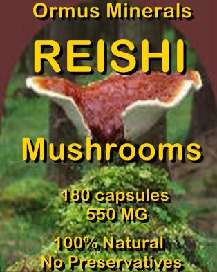 Ormus Minerals Resishi Mushrooms capsules