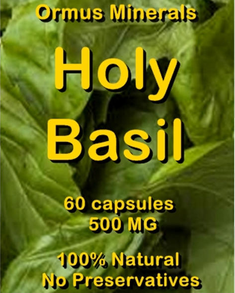 Ormus Minerals Holy Basil capsules