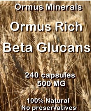Ormus Minerals Ormus Rich Beta Glucans