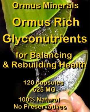 Ormus Minerals Ormus Rich Glyconutrients capsules