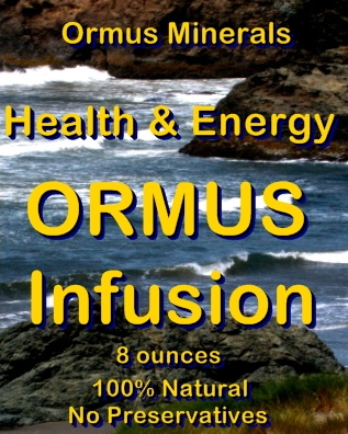 Ormus Minerals Health and Energy Ormus Infusion