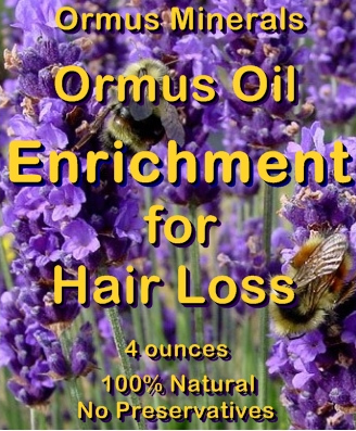 Ormus Minerals Ormus Oil for Hair Loss