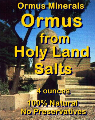 Ormus Minerals - Ormus from Holy Land Salts
