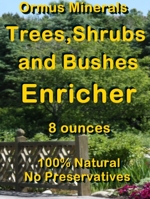 Ormus Minerals Trees, Shrubs, and Bushes Enricher