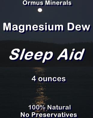 Ormus Minerals Magnesium Dew Sleep Aid