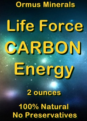 Ormus Minerals Life Force Carbon Energy