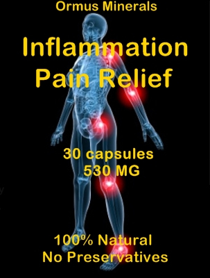 Ormus Minerals - INFLAMMATION PAIN Relief