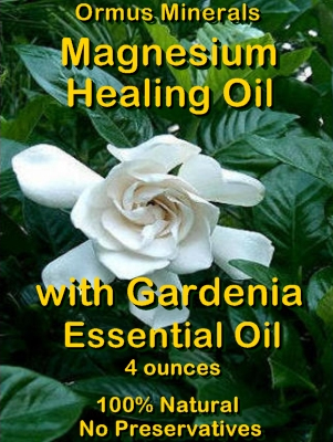 Ormus Minerals Magnesium Healing Oil with GARDENIA EO