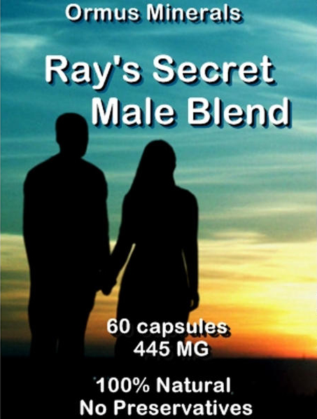 Ormus Minerals Ray's Secret MALE Blend