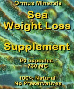 Ormus Minerals SEA Weight Loss Supplement