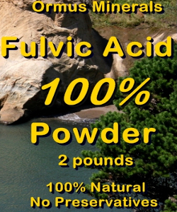 Ormus Minerals FULVIC ACID 100% POWDER