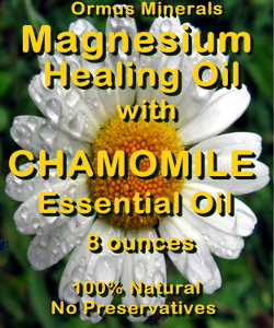 Ormus Minerals Magnesium Healing Oil with CHAMOMILE EO