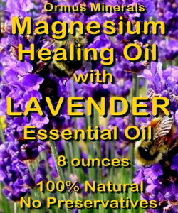 Ormus Minerals Magnesium Healing Oil with LAVENDER EO