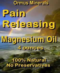 Ormus Minerals PAIN RELEASING Magnesium Oil