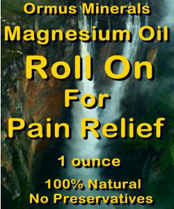 Ormus Minerals Magnesium ROLL ON for PAIN