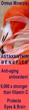 Ormus Minerals shares ASTAXANTHIN Benefits