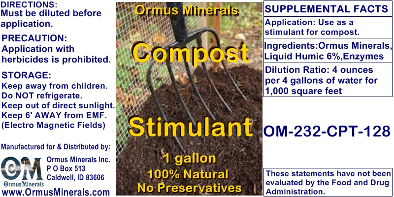 Compost Stimulant Concentrate