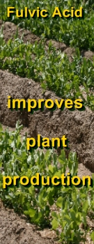 Ormus Minerals - Fulvic Acid improves plant production