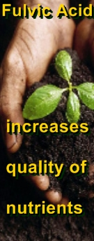 Ormus Minerals Compost Stimulant - Fulvic Acid increases quality of nutrients