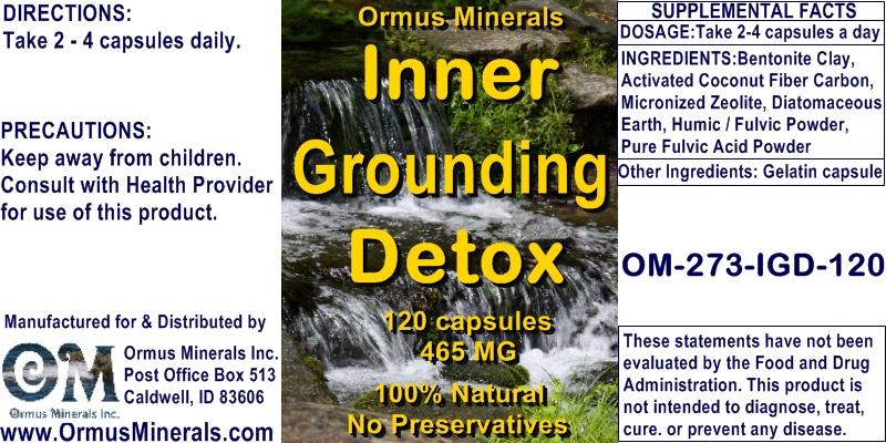Inner Grounding Detox blend